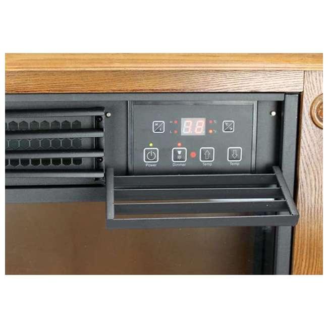 LS-1111HH-2 LifePro LS-1111HH 3 Element Electric Fireplace Heater 2