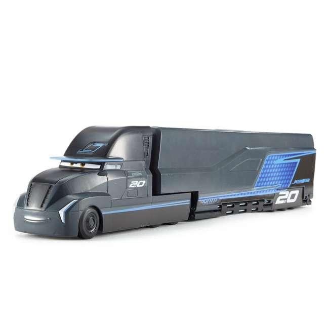FPC41 Disney Pixar Cars 3 Jackson Storm's Transforming Folding Hauler Truck Playset