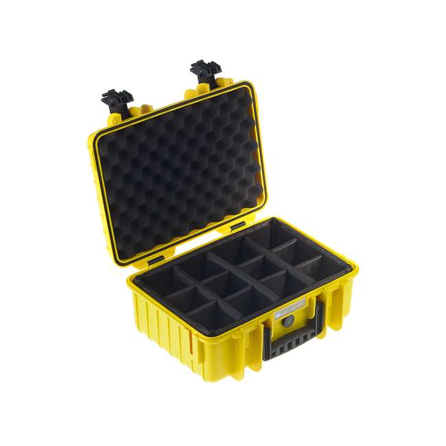 4000/Y/RPD B&W International 4000/Y/RPD Hard Plastic Outdoor Case with Removable RPD Insert 1