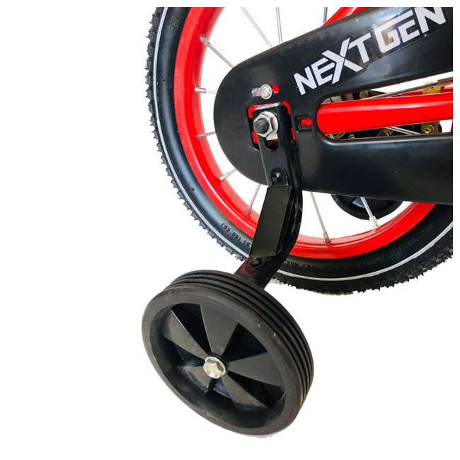 14BK-R NextGen Coordination Bike with Training Wheels, Red  2