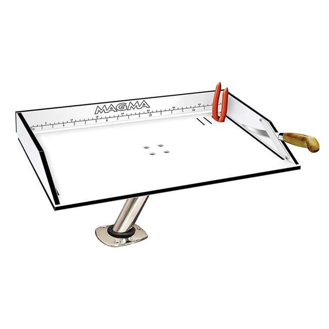 """T10-312B Magma Boat Marine 20"""" Bait/Filet Mate Fish Cleaning Cutting Table Board & Mount"""