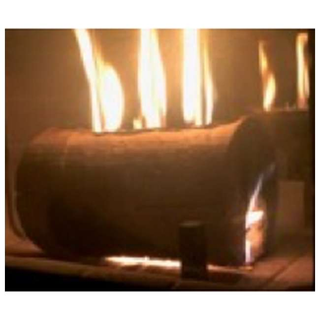 TBT-3004 TimberTote TripleTorch One Log Campfire Fireplace Fire Wood Log with 3 Chimneys 4