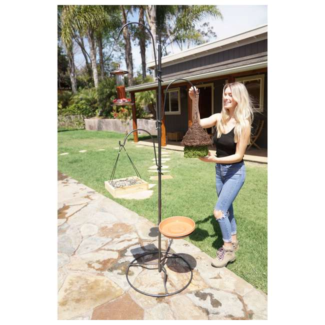 IYTBC-4 Yard Butler YTBC-4 Adjustable Bird Feeding Station and Patio Base 2