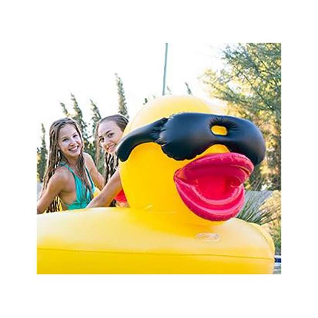 5000 GAME Giant Inflatable Riding Derby Duck(Open Box) 3
