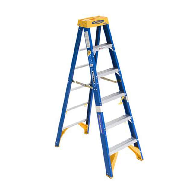 W-OBEL06 Werner 6 ft Fiberglass Ladder - OMA