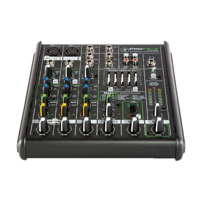 ProFX4v2-OB Mackie ProFX4v2 Live Sound 4-Channel Mixer 2