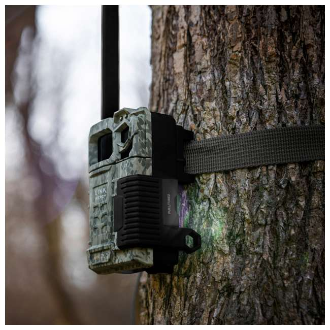 MICROUS + Box SPYPOINT LINK MICRO Nationwide Cellular Hunting Trail Game Camera & Security Box 8