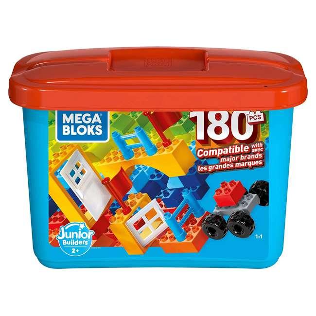 GJD22 Mega Bloks GJD22 Junior Builder Mini Bulk Tub 180 Piece Large Block Building Set