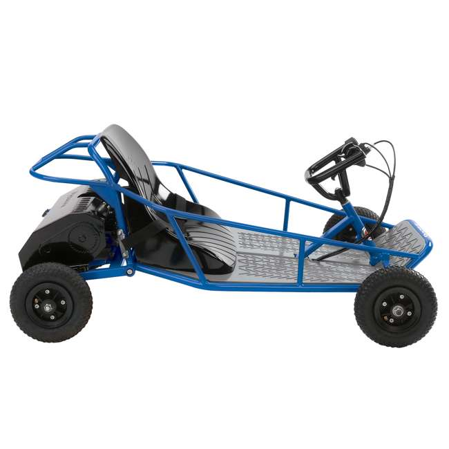 25143540 + 25143511 Razor 25143540 Kids Youth Electric Go Kart Dune Buggy, Blue FrameRazor Dune Buggy 4