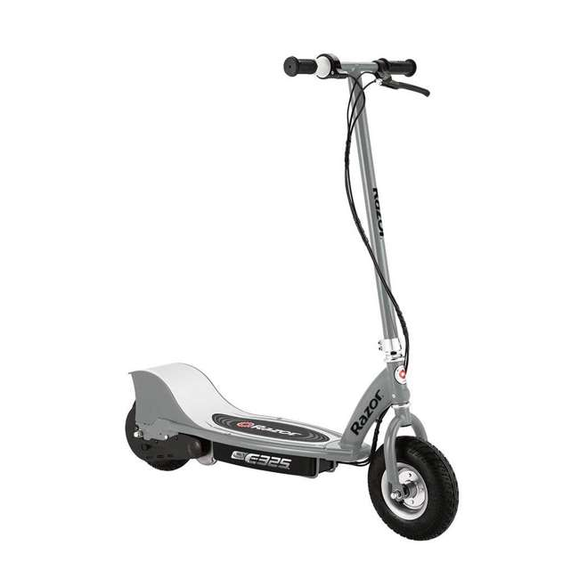 13116310 + 13116312 + 13116341 Razor E325 Adult Electric 24V Ride-On Scooter, White, Silver, and Navy (3-Pack) 2