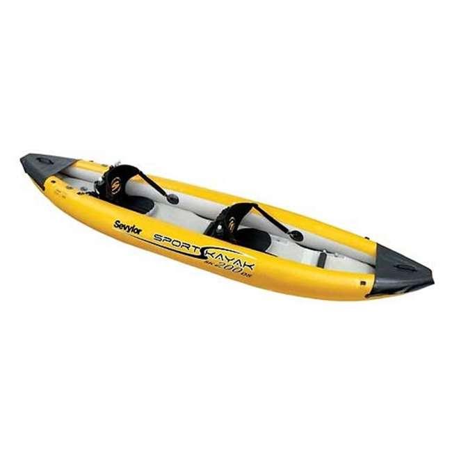 U247CMB-00-000 SEVYLOR 2 Person Inflatable Sevytex White-Water Kayak