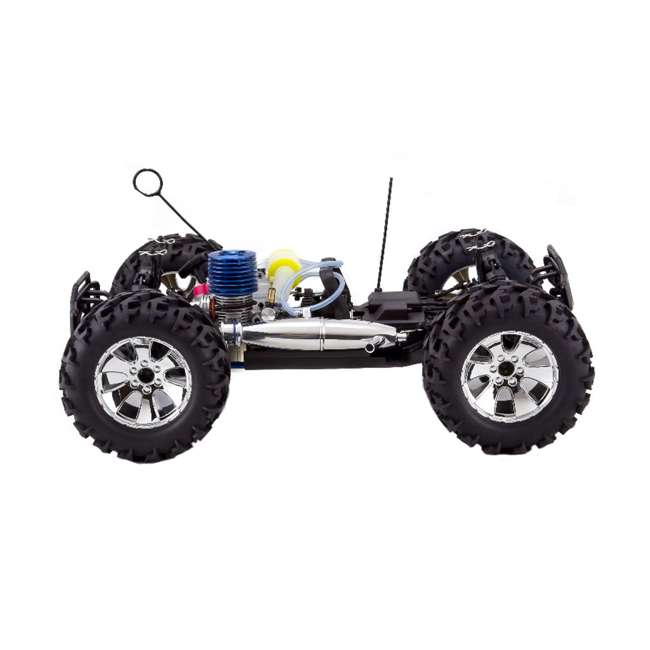 EARTHQUAKE3.5-NEW-RED Redcat Racing Earthquake 3.5 1/8 Scale Nitro Remote Control Monster Truck Toy 6