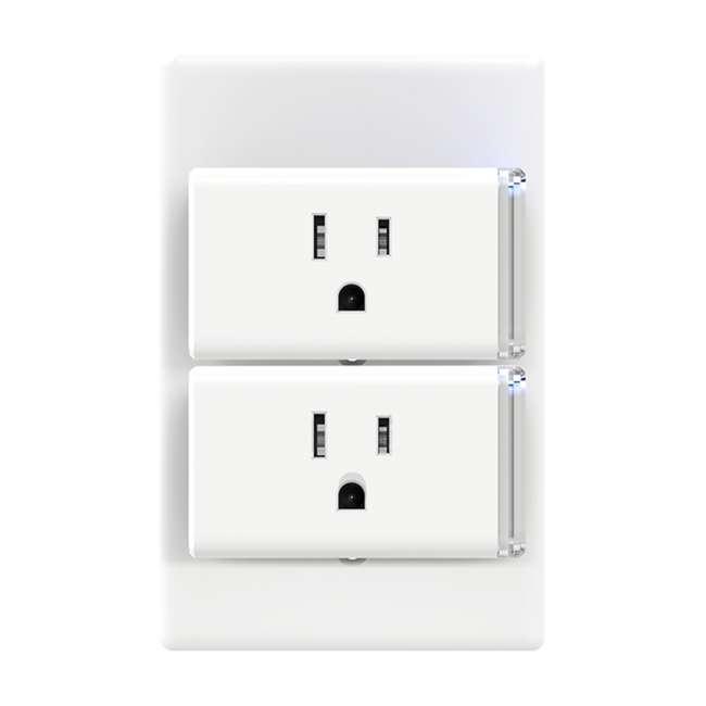 TPL-HS105KIT 2-Pk TP-Link Smart Home WiFi Voice App Control Plug Mini Homekit (Open Box) 2
