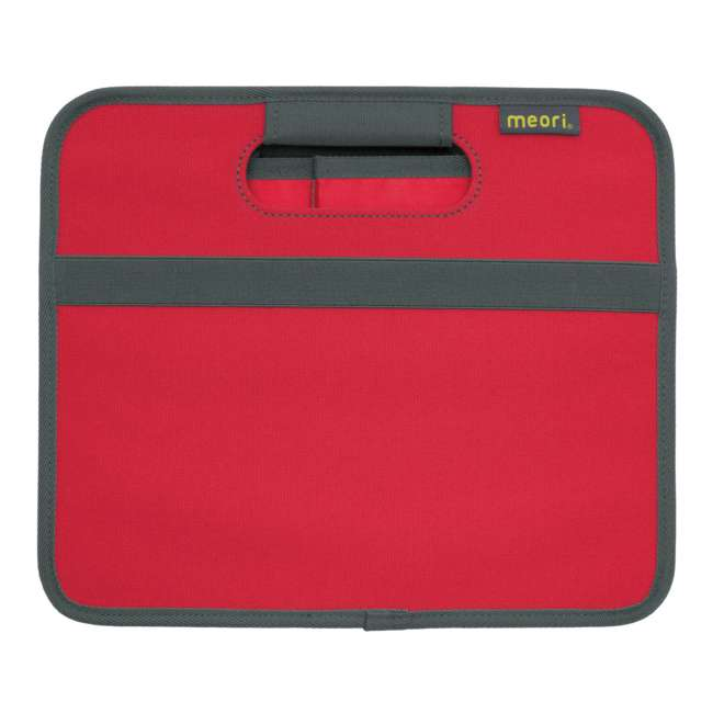 A100062 + A100200 Meori Classic Collection 4 & 6.5 Gallon Foldable Boxes, Hibiscus Red 10