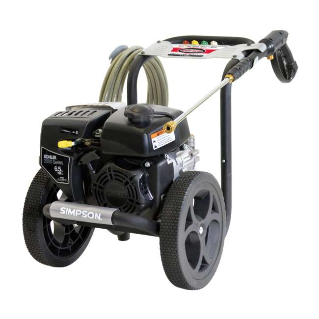 SMPSN-PW-MS60763-S-60763-U-C Simpson Megashot 2.4 GPM 3100 PSI Power Portable Pressure Washer (For Parts)