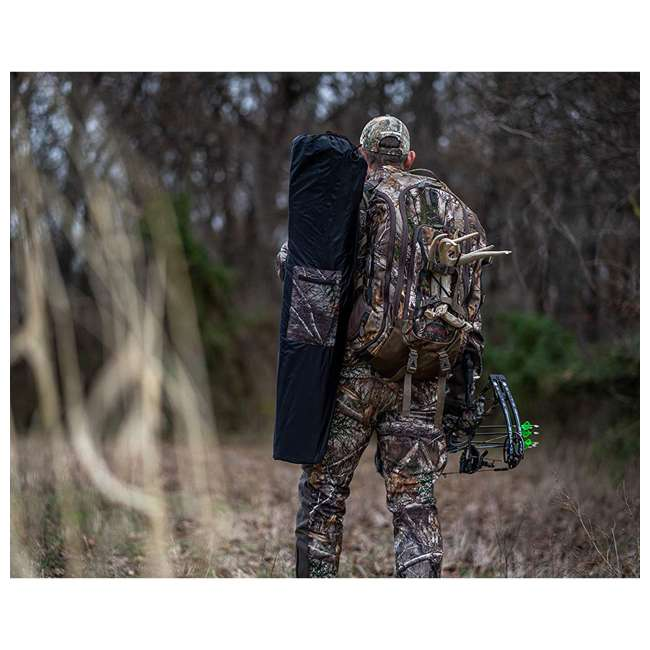R150-RTE Rhino Blinds R150-RTE RealTree Edge 3 Person Game Hunting Ground Blind, RealTree 7
