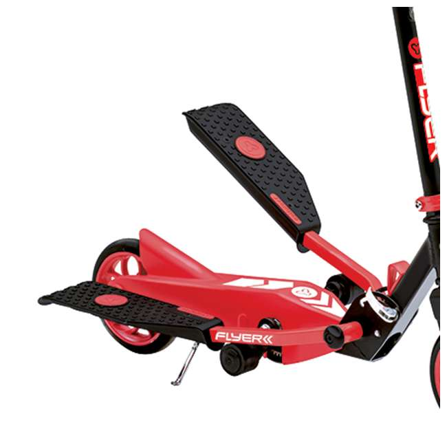 YFLYER-100739-U-A Yvolution Y Flyer Kids Childrens Youth Stepper Scooter, Ages 7+, Red (Open Box) 2