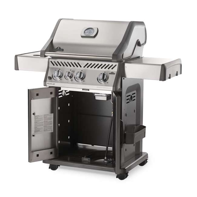 R425SIBPSS-OB Napoleon Rogue 425 Propane Gas Grill with Side  (Open Box) 1