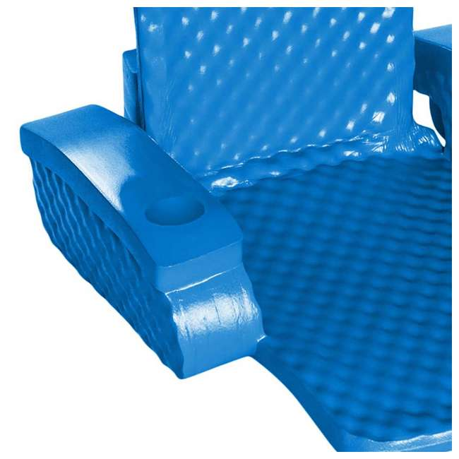 6370126-U-B TRC Recreation Super Soft Baja Swimming Pool Folding Chair Foam Float (Used) 2