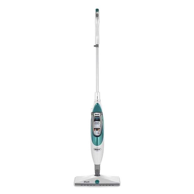 SK410 Shark SK410 Lightweight Steam and Spray Electric Floor Steamer Mop, White & Blue 1