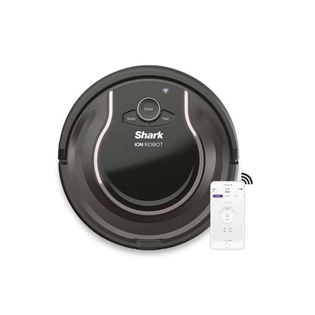 RV750N_ENB-RB Shark RV750_N ION Robot Vacuum Cleaner Wi-Fi Automatic (Certified Refurbished)