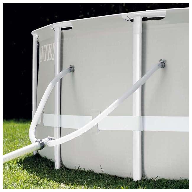 26719EH + 28620E Intex Above Ground Swimming Pool Set & Handheld Vacuum  6