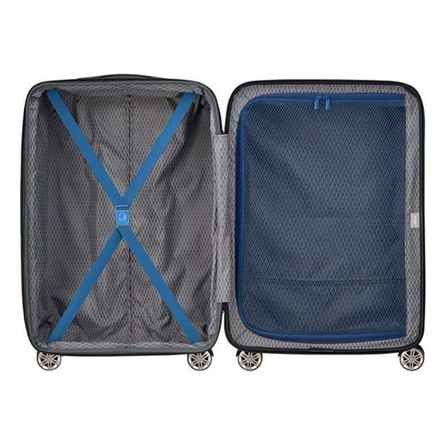 "40386582022 DELSEY Paris Comete 2.0 24"" Expandable Spinner Upright Travel Bag, Steel Blue 3"