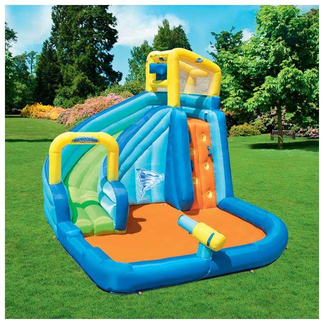 53319E-BW Bestway H2OGO! Hydrostorm Splash Mega Inflatable Water Park 1