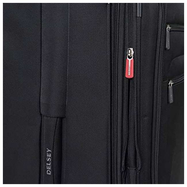 """40328182000 DELSEY Paris Sky 2.0 Lightweight 25"""" Expandable Spinner Travel Luggage, Black 3"""
