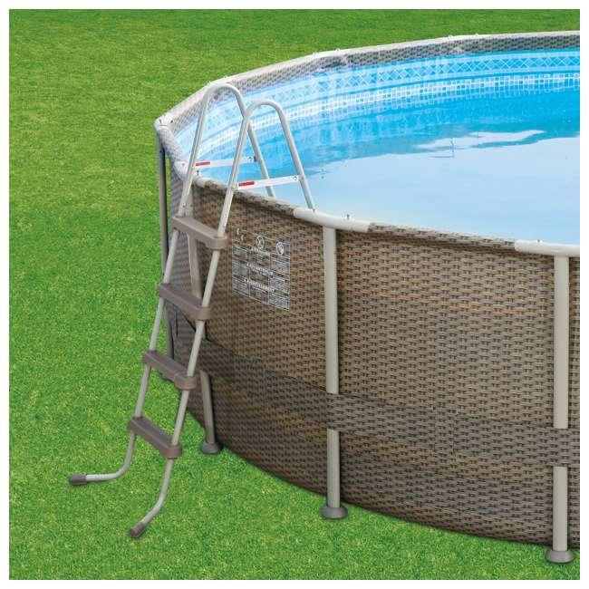 P4N01848B167 Summer Waves 18 Foot Elite Frame Swimming Pool 2