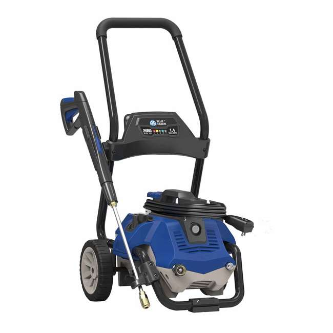 AR2N1 AR Blue Clean AR2N1 2 in 1 2,050 PSI 120 Volt Electric Pressure Washer, Blue