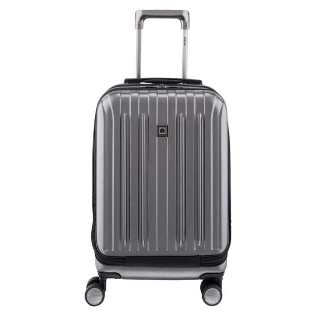 00207180101 Delsey Paris Titanium International Carry On Spinner Rolling Luggage Suitcase