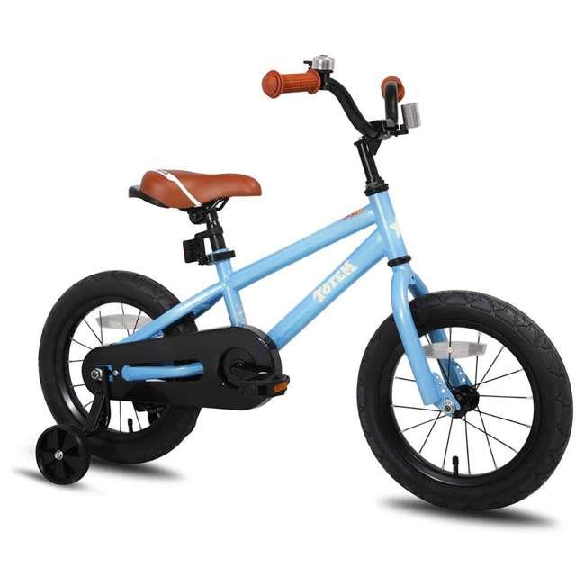 BIKE016-18 JOYSTAR Totem Series Premium Steel Body 18-Inch Kids Bike with Kickstand, Blue