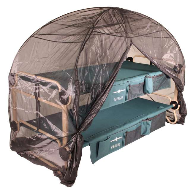 19810 Disc-O-Bed Mosquito Net and Frame (2 Pack) 2