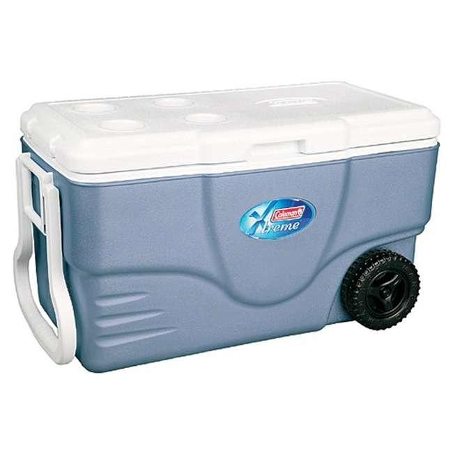 4 x 6262A758 Coleman Xtreme 5 Coolers w/ Wheels - 62 Qt (4 Pack) 1