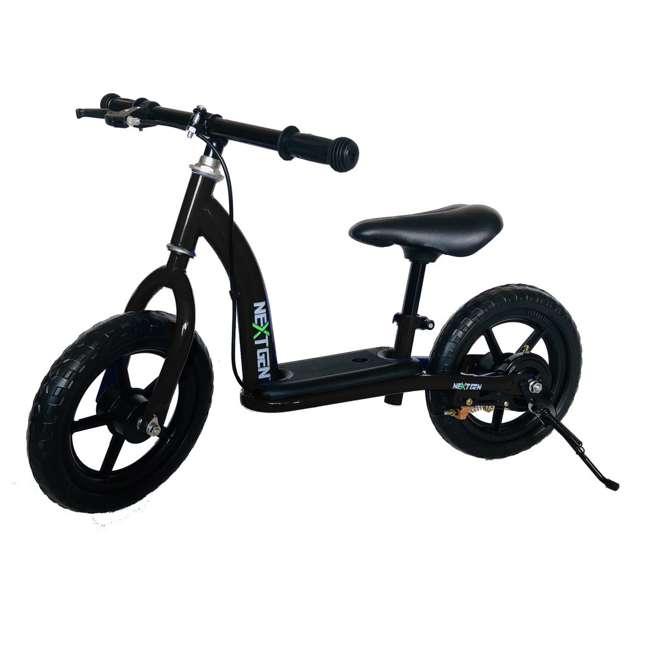 12BALBK-BLK NextGen 12BALBK-BLK 12 inch Adjustable Toddler Balance Training Bike, Black