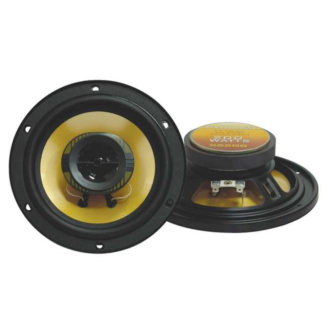 652GS Pyramid 652GS 6.25-Inch 200W Speakers (Pair)