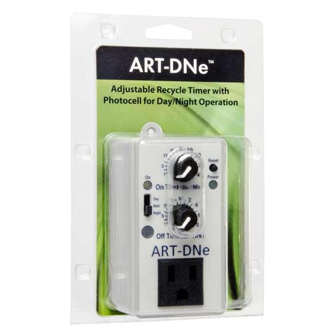 ART-DNE-U-A C.A.P. ART-DNE Hydroponic Day/Night Adjustable Recycle Timer Controller - Open B 1