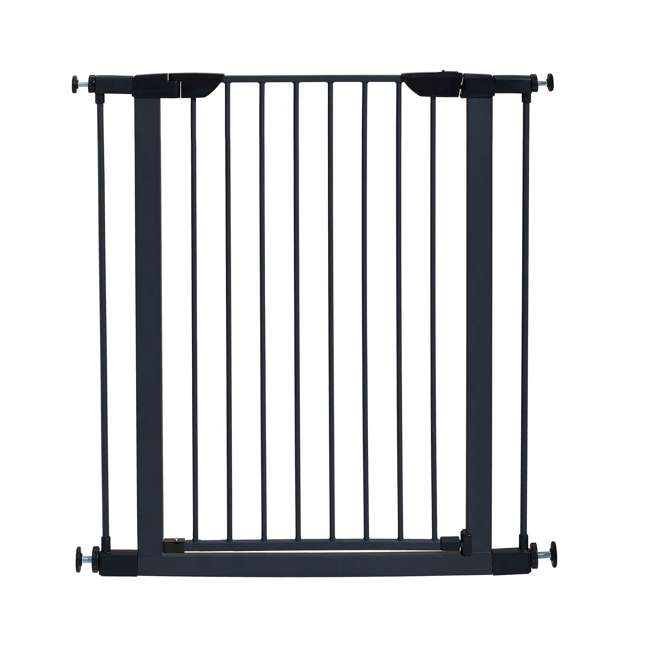 2939SG-U-A MidWest Homes for Pets 39-Inch Tall Dog Pet Puppy Gate, Graphite (Open Box)