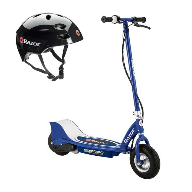 13116341 + 97778 Razor E325 Electric Scooter + Youth Helmet