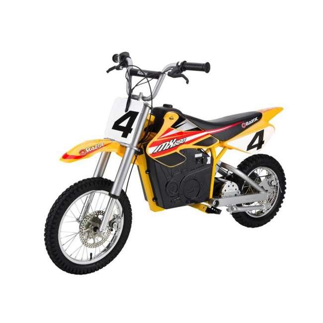 15165070 Razor MX650 Dirt Rocket High-Torque 36-Volt Electric Motorcycle Bike