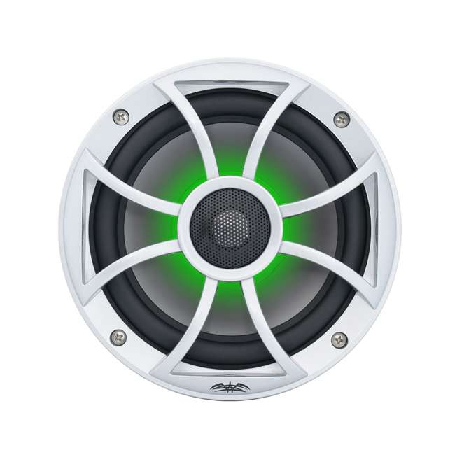 "RECON6SRGB Wet Sounds Recon 6.5"" 2-Way Marine Speakers w/ LED lights 5"