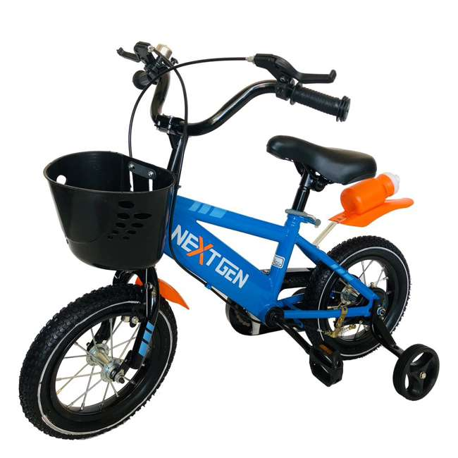 12BK-BLU NextGen 12 Inch Coordination Bike with Training Wheels, Blue 1