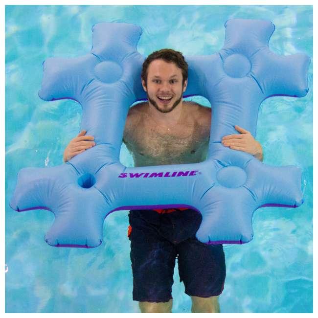 Swimline Inflatable #YOLO Swimming Pool Fun Raft Lounger ...