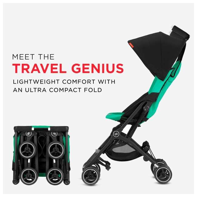 619000531 GB Gold Pockit Plus Lightweight Folding All Terrain Infant Stroller, Night Blue 1