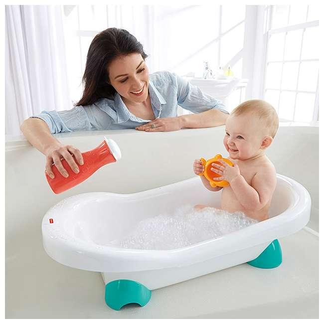 3 x CHP84 Fisher Price Go Wild Baby Bathtub  (3 Pack) 6