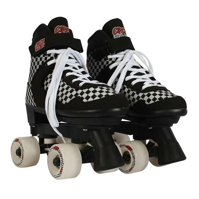 168221 Circle Society Street Checkered Kids Skates, Sizes 3 to 7