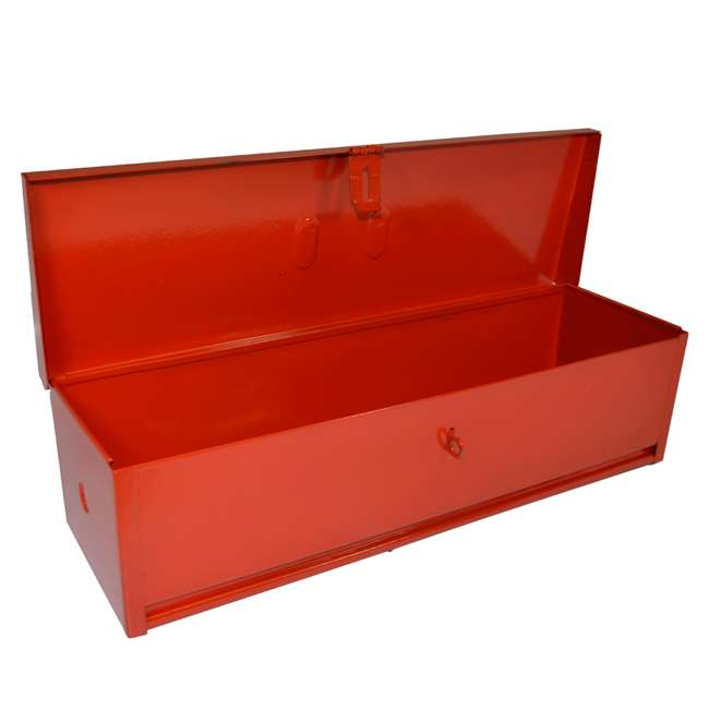 RE-102419 Steel 16-Inch Portable Mountable Tool Box, Red 1