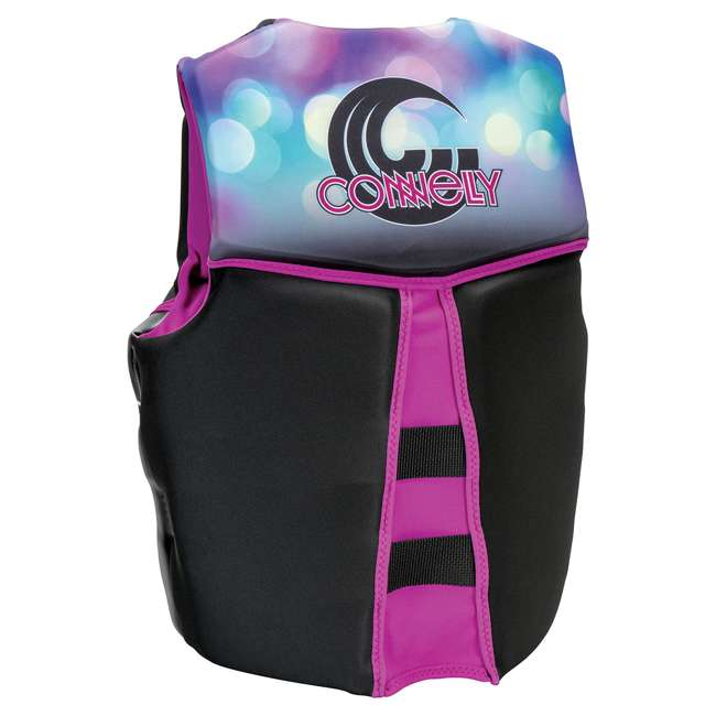 67192407-CON CWB Connelly Womens Classic Neo Vest Water Gear Life Jacket, Purple, Extra Small 1
