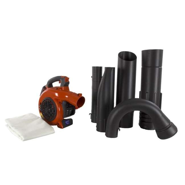 HV-BL-952711902-U-B Husqvarna 125BVx 28cc 2 Cycle Gas Powered 170 MPH Lawn Blower Vacuum (Used)
